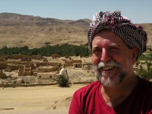 No Saara, pesquisa das rotas das especiarias, entre a Tunísia e a Argélia, África